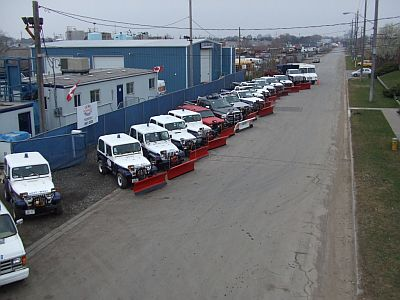 Snow Plow Fleet